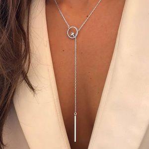 Jewelry - NWT Crystal Cross Choker Necklace
